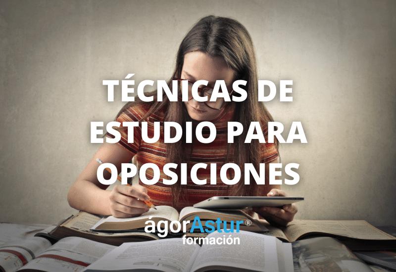 las-mejores-tecnicas-de-estudio-de-oposiciones