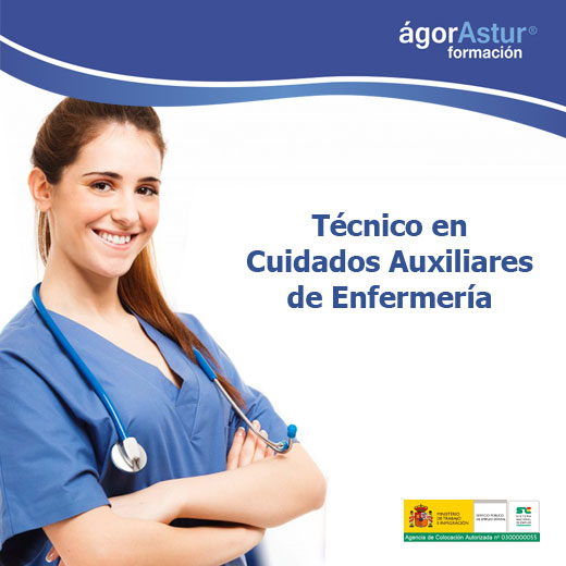 Técnico En Cuidados Auxiliares De Enfermería En Oviedo Gijón Avilés Langreo Y León Agorastur Formación